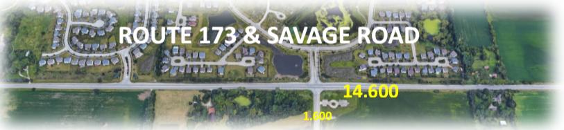 Traffic Counts RT 173 & Savage Rd
