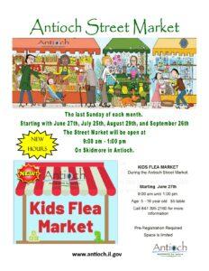 Antioch Street Market & Kids Flea Market @ Toft Street | Antioch | Illinois | United States