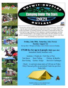 Camping Under the Stars @ Pedersen Park