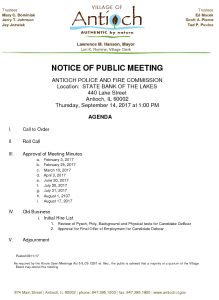 09-14-17 Police And Fire Agenda