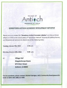 Downtown Economic Development Initiative Meeting