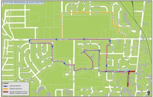 4th Of July 5K Run For Freedom Race Route