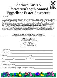 Easter Parade Application