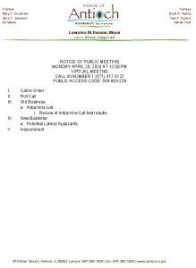 04-20-20 PFC Agenda